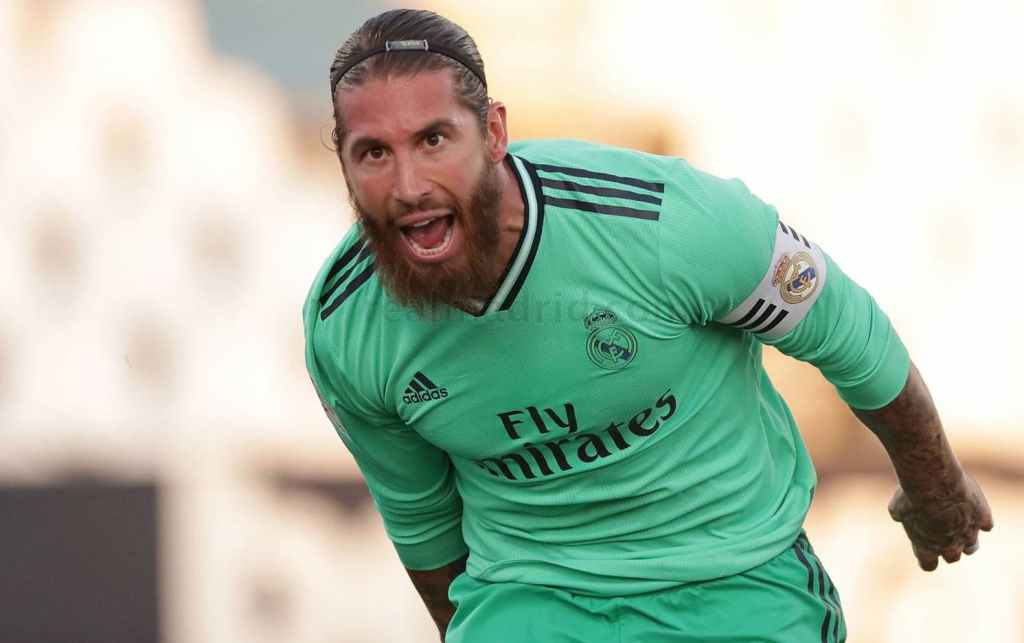 À 34 ans, Sergio Ramos a été comme d'habitude le taulier de la défense madrilène