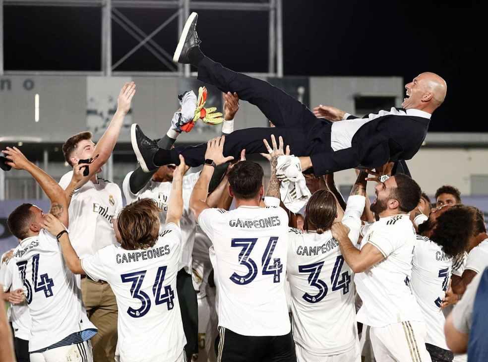Real Madrid Champion de LaLiga 2019/2020