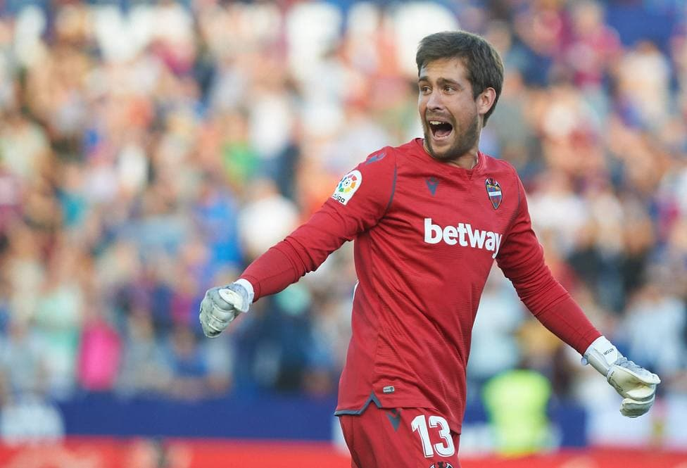 Aitor Fernandez, gardien de but du Levante UD