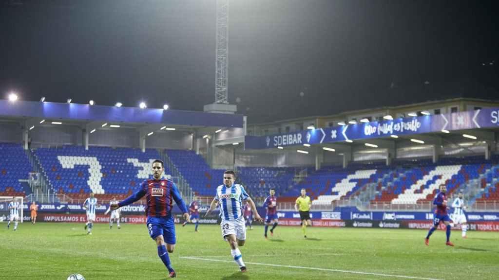Eibar vs Real Sociedad, 12 mars 2020, Ipurúa.