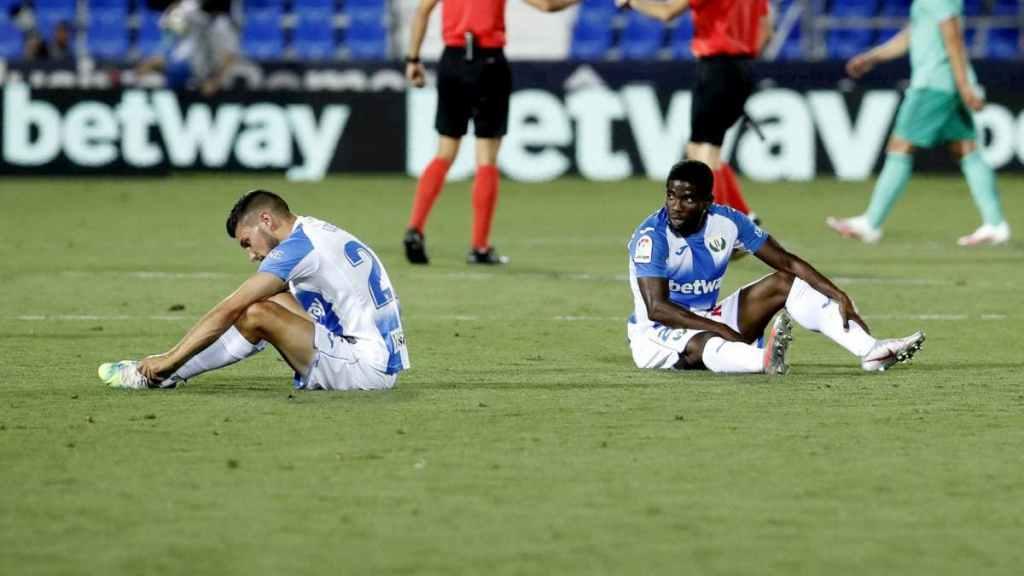 Après le match nul 2-2 contre le Real Madrid, la descente de Leganés en Segunda est désormais officilelle.