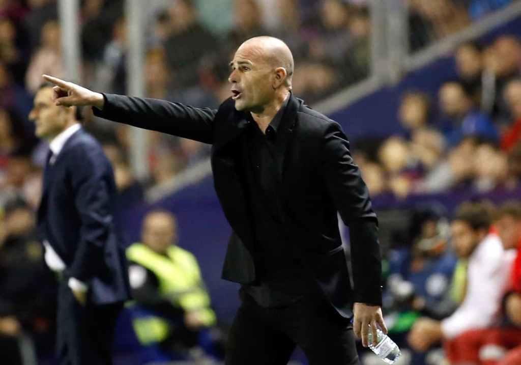 Paco López, entraîneur du Levante UD