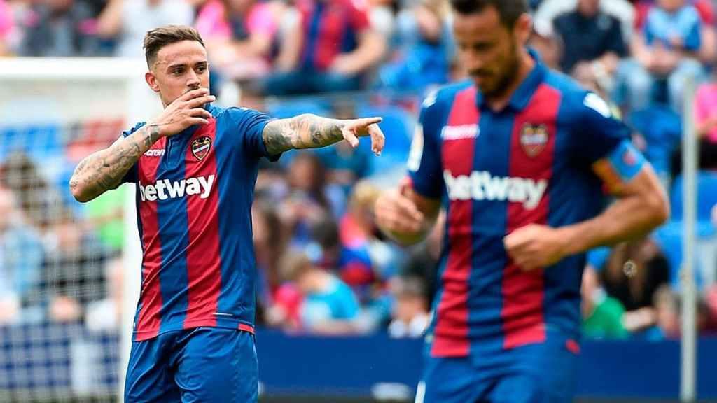 Roger Martí, meilleur buteur pour la deuxième saison de suite du Levante UD